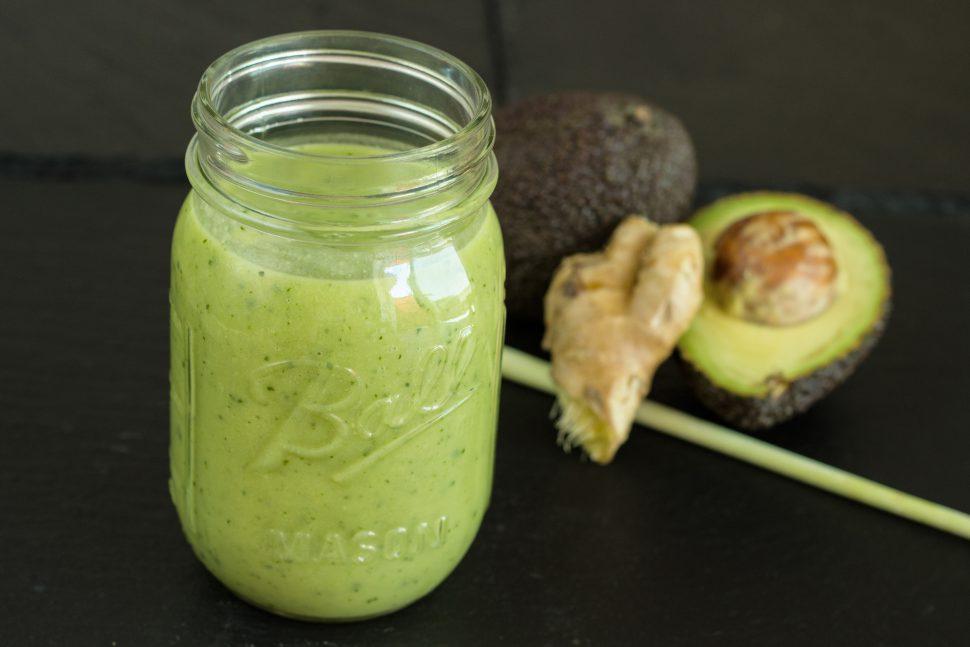 Avocado | Basilikum | Ingwer | Apfel | Zitronengras