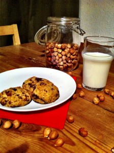 Cookies-Milch