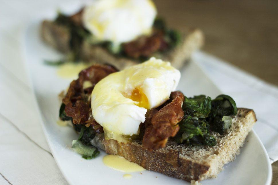 Meine Variation von Eggs Benedict