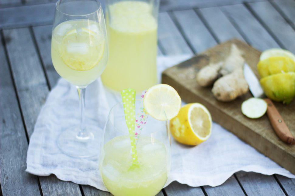 Zitronen-Ingwer-Spritzer