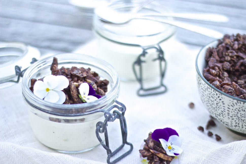 Cremiges Joghurt & Schokokrokant