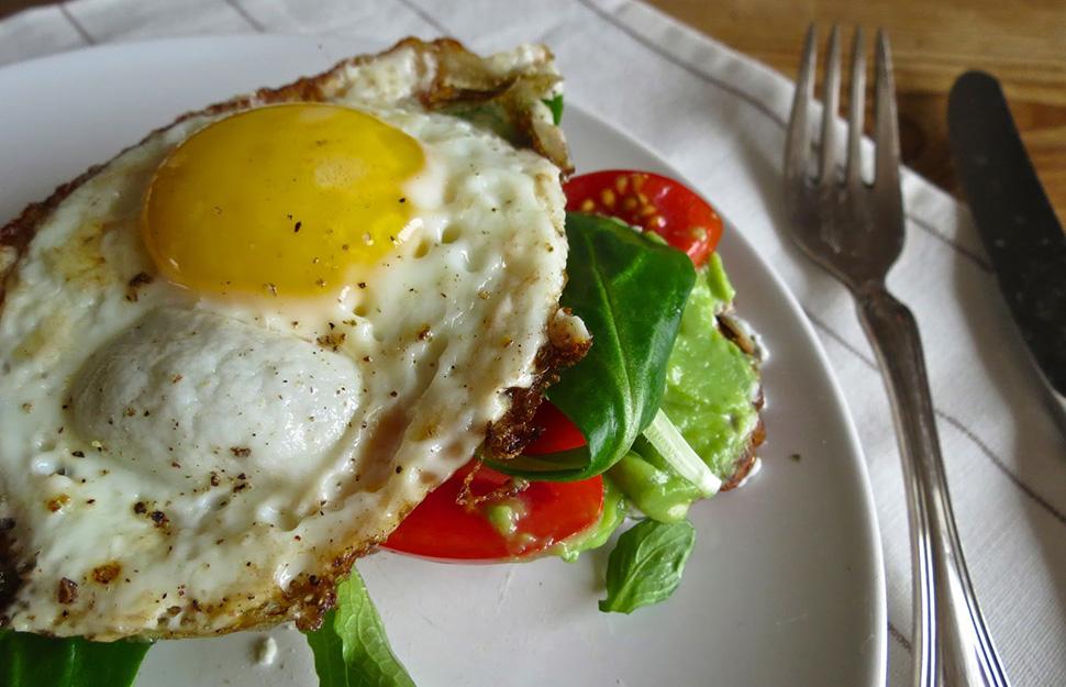 Avocado | Ziegenfrischkäse | Ei
