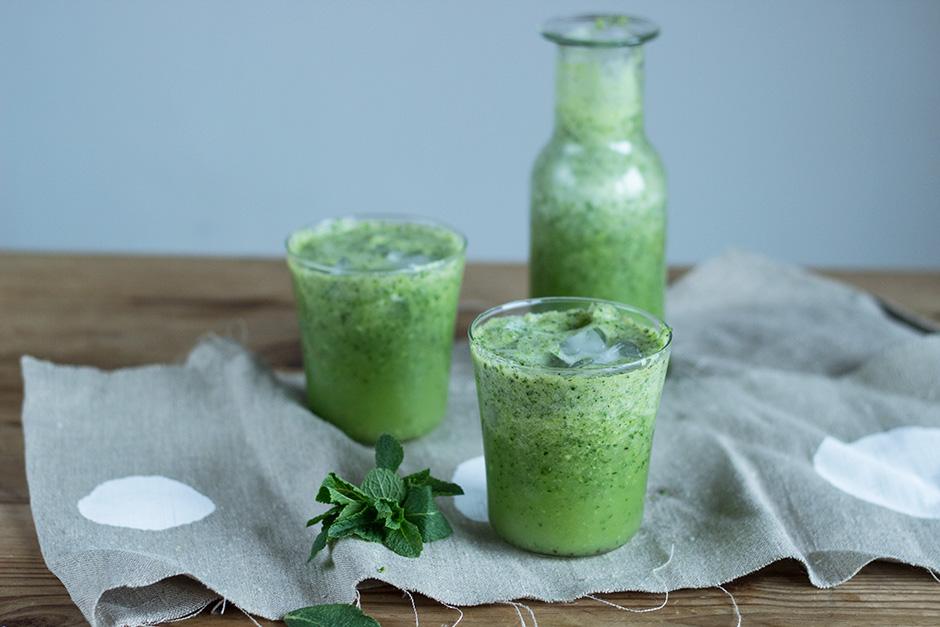 Ein Grüner Smoothie der schmeckt!