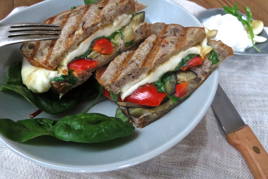 Vegetarisches Sandwich…